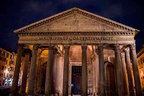 El-Panteón-de-Agripa-en-Roma