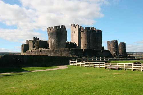 castillo-de-Caerphilly