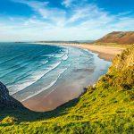 las playas de gales