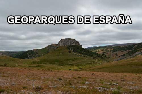 LISTADO DE GEOPARQUES ESPAÑOLES